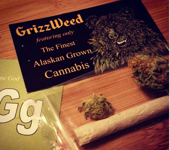 Grape God by GrizzWeed